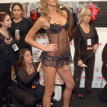 9th Annual Victoria's Secret Fashion Show - Backstage