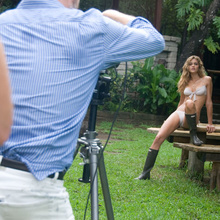Brazilian model, Ana Beatriz Barros poses on location in Nicaragua for Sports Illustrated's Swimsuit 2008 edition.