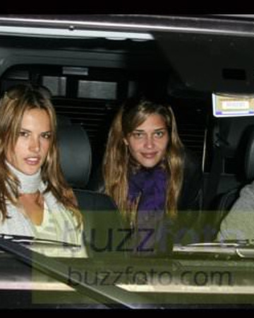Out with Alessandra and boyfriend in Beverly Hills