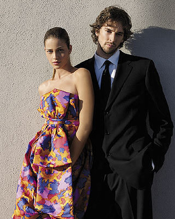Shooting for Spanish Vogue with Paul Gasol