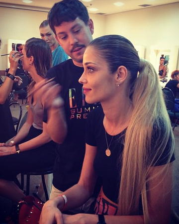03-09 Backstage at the ELLE Summer Preview, Sao Paulo