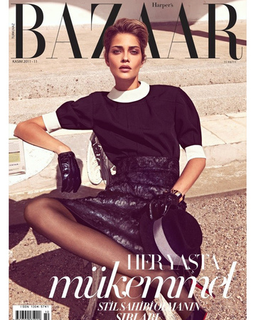 Harper's Bazaar Turkey 2011 November